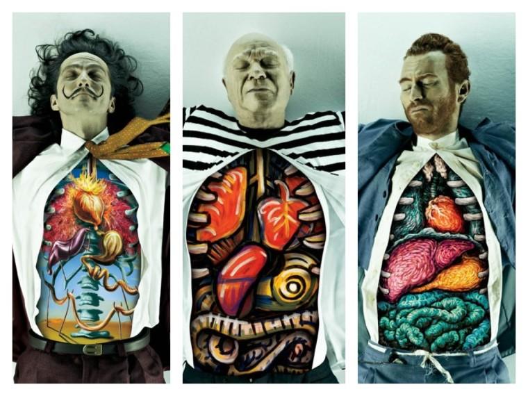 Composition of an Artist...